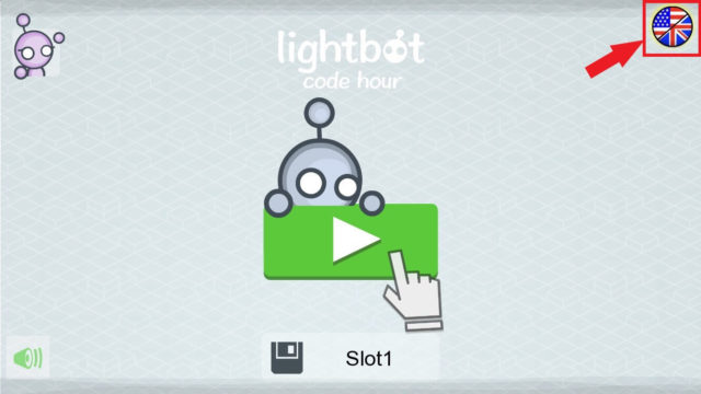 Lightbot : Code Hour日本語表示
